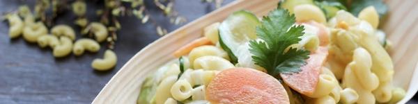 Làm ngay salad nui vừa đủ chất lại ngon miệng cho bữa sáng nhanh gọn