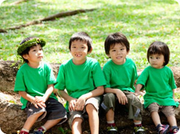 Màu xanh rất tốt cho thị lực của trẻ