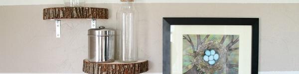 Ý tưởng tự làm kệ trang trí nhà từ những món đồ vô cùng thân thuộc