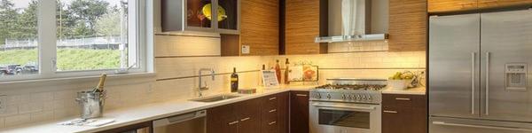 Những mẫu thiết kế tủ bếp hình chữ L cho những căn bếp hiện đại