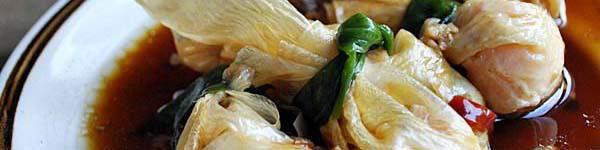 Giòn rụm váng đậu cuộn tôm chiên 9