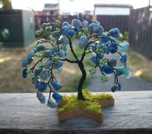 Xỏ cườm thành cây bonsai tí hon cực xinh 12