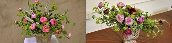Hướng dẫn cắm hoa tươi tự nhiên, tinh tế