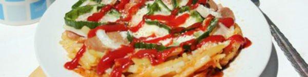 Không cần lò nướng, làm pizza tuyệt ngon từ khoai tây