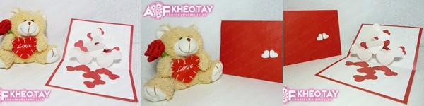 Tự làm thiệp Valentine đơn giản mà ấn tượng
