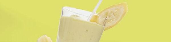 Sữa lắc chuối thơm ngon bổ dưỡng