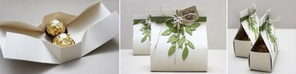 Gấp hộp đựng quà nhanh gọn và trang nhã
