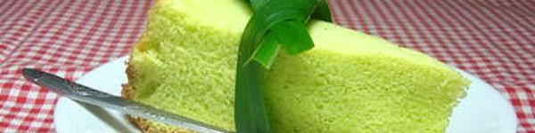 Bánh chiffon lá dứa nướng bằng nồi cơm điện