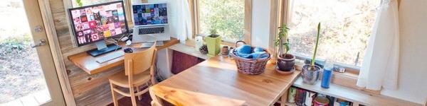 Thích thú với căn nhà 14,4m² bằng gỗ siêu tiện nghi