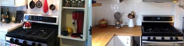 Ngắm hai phòng bếp đẹp ngỡ ngàng sau cải tạo