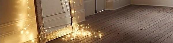 Không gian sống ngọt ngào với đèn nhấp nháy