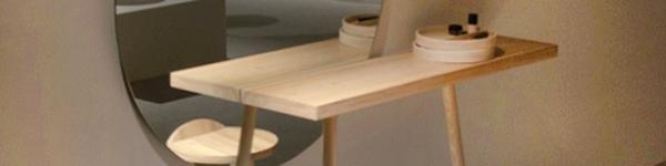 3 mẫu bàn trang điểm nhỏ mà sang cho phụ nữ hiện đại