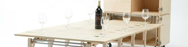Những mẫu bàn ăn vừa khít cho căn bếp nhỏ