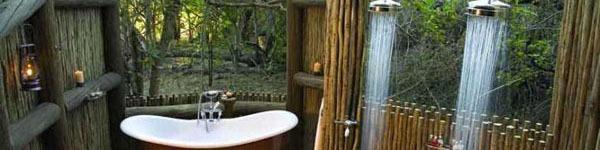 Ngất ngây với 15 ý tưởng thiết kế phòng tắm ngoài trời