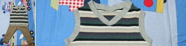 Cách may áo gi-lê cho bé từ mẫu cũ cực dễ dàng