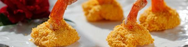 Tôm nướng vàng giòn - món khai vị tuyệt ngon
