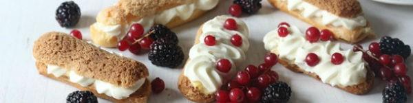 Học làm bánh Eclairs ngon đúng kiểu Pháp