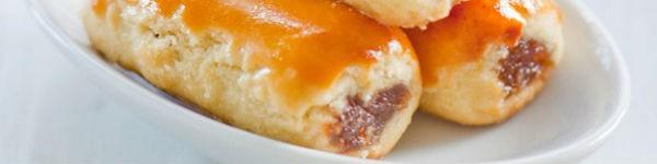 Chua ngọt mềm thơm món bánh cuộn dứa