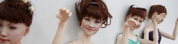 Nhật Bản: Búp bê 3D có gương mặt giống hệt người thật