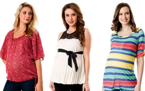 Bà bầu mặc gì cho hợp thời trang trong năm 2012?