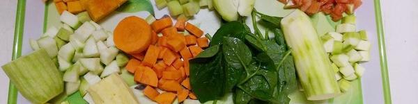 Hướng dẫn cách chế biến rau củ quả cho bé mới ăn dặm