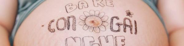 Bộ ảnh vẽ trên bụng bầu quá đỗi ngọt ngào của ông bố Việt tặng con sắp chào đời