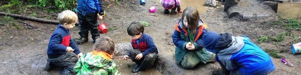 Những ngôi trường mầm non ở trong rừng đáng mơ ước của trẻ em Mỹ