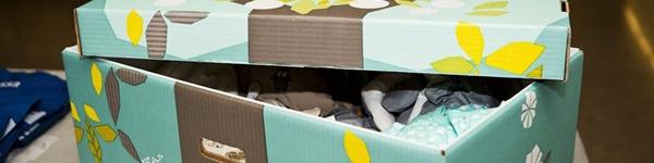 Bí mật chiếc hộp hạnh phúc của trẻ sơ sinh ở Phần Lan
