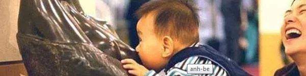 Chùm ảnh: Khoảnh khắc nhầm lẫn siêu đáng yêu của bé