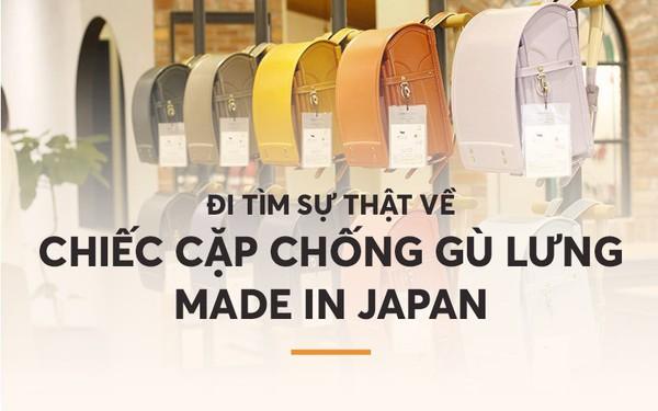 Đi tìm sự thật về chiếc cặp chống gù lưng Made in Japan các mẹ Việt săn lùng cho con