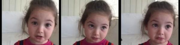 Cô bé 5 tuổi nhất quyết không ăn thịt vì lý do quá đáng yêu