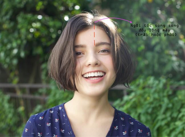 F5 khuôn mặt chẳng tốn đồng nào với kiểu tóc mái chia ngôi 8:2 - Ảnh 1.