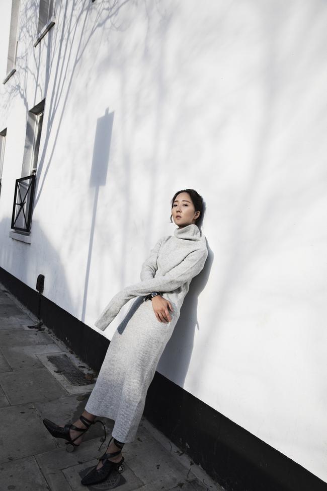 Street style ấm - đẹp - chất của các quý cô Châu Á  - Ảnh 10.