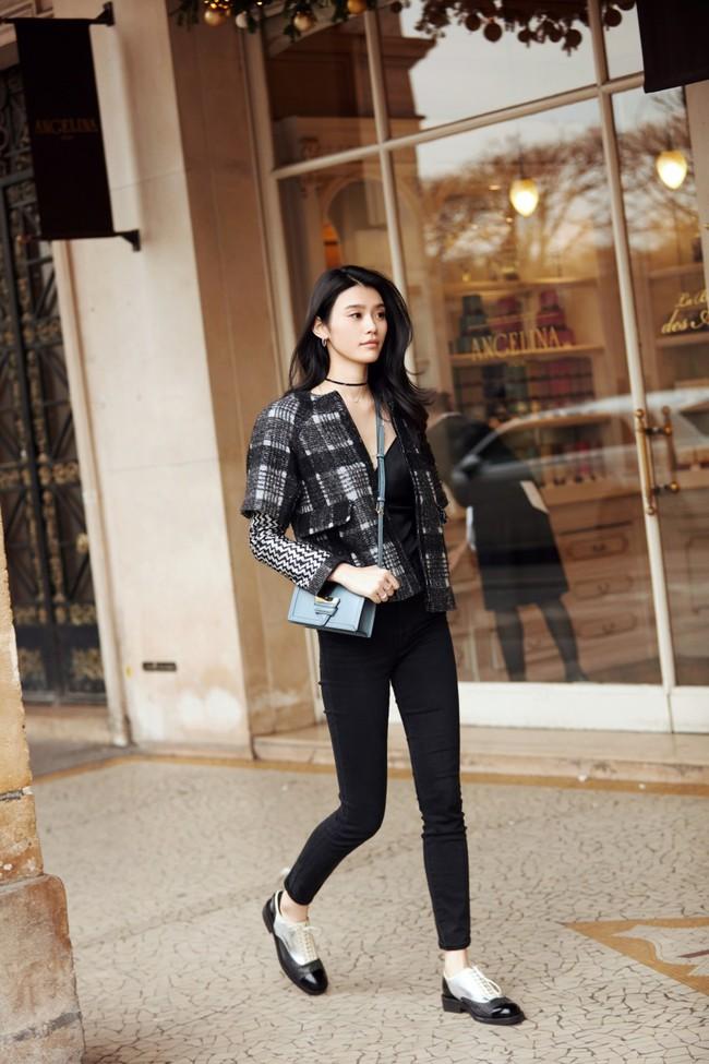 Street style ấm - đẹp - chất của các quý cô Châu Á  - Ảnh 13.