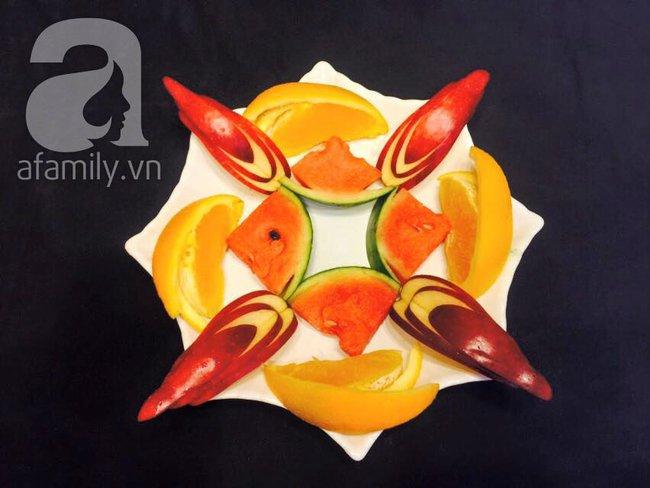 6 cách bày đĩa trái cây dễ mà siêu xinh cùng cả nhà đón năm mới rực rỡ - Ảnh 10.