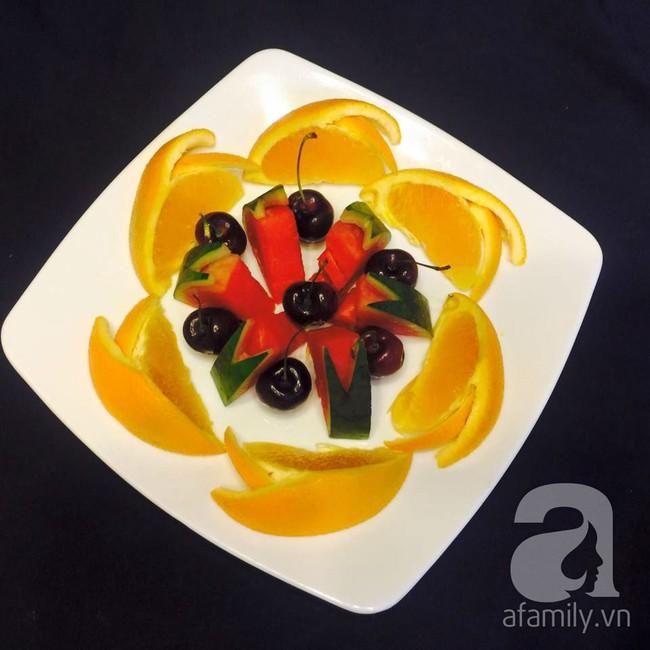 6 cách bày đĩa trái cây dễ mà siêu xinh cùng cả nhà đón năm mới rực rỡ - Ảnh 11.