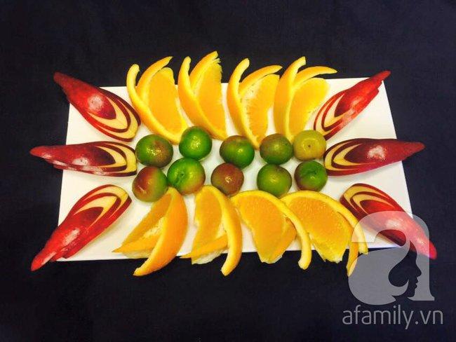 6 cách bày đĩa trái cây dễ mà siêu xinh cùng cả nhà đón năm mới rực rỡ - Ảnh 13.