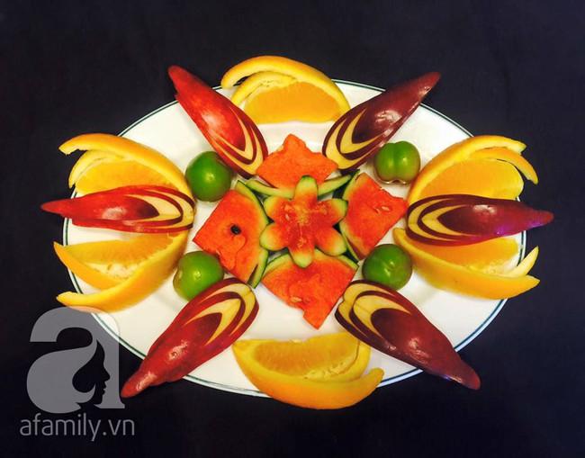 6 cách bày đĩa trái cây dễ mà siêu xinh cùng cả nhà đón năm mới rực rỡ - Ảnh 14.