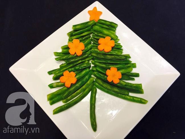 6 cách bày cây thông Noel từ rau củ quả khiến bé thích mê - Ảnh 4.
