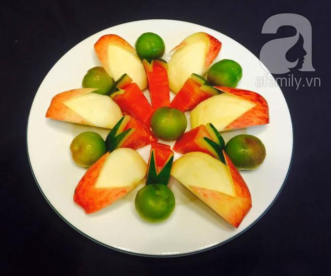 6 cách bày đĩa trái cây dễ mà siêu xinh cùng cả nhà đón năm mới rực rỡ - Ảnh 9.