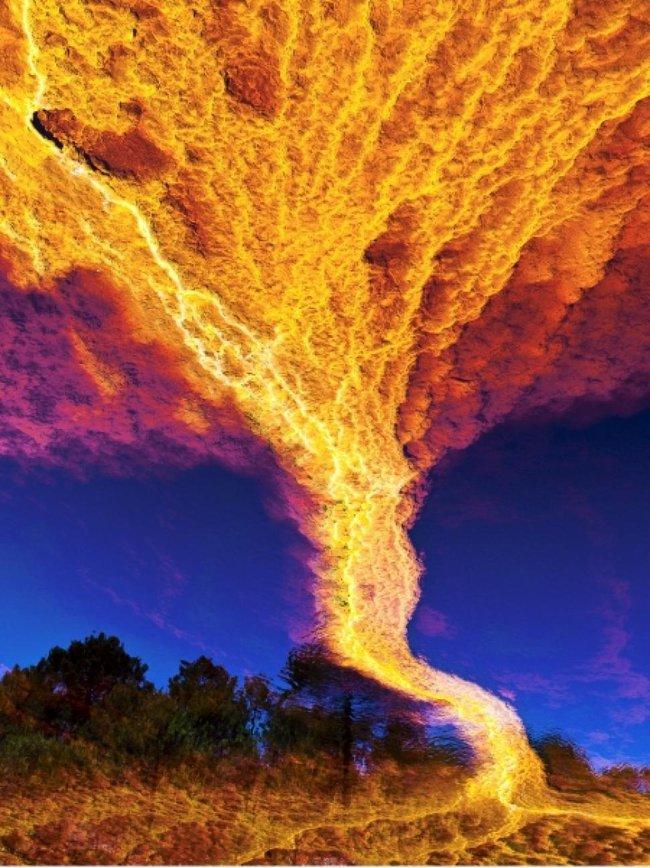 Những hiện tượng thiên nhiên đẹp lạ lùng nhưng khiến nhiều người hoảng sợ - Ảnh 4.