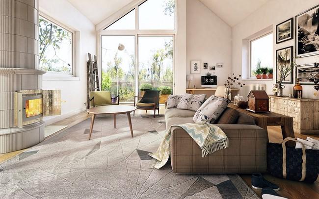 """Scandinavian đích thị là phong cách mà bạn đang tìm kiếm """"mòn mỏi"""" cho không gian phòng khách - Ảnh 2."""
