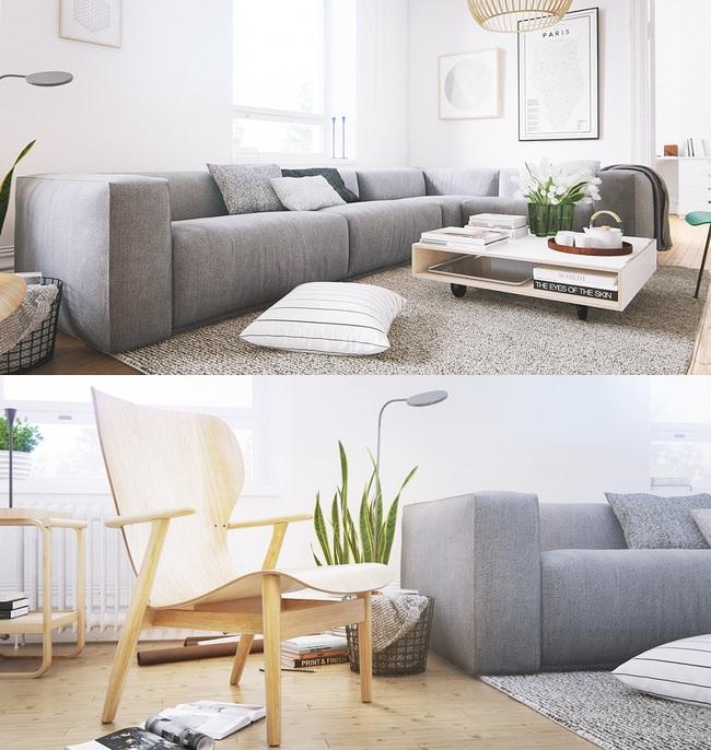 """Scandinavian đích thị là phong cách mà bạn đang tìm kiếm """"mòn mỏi"""" cho không gian phòng khách - Ảnh 11."""