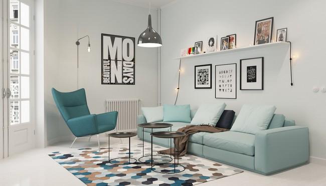 """Scandinavian đích thị là phong cách mà bạn đang tìm kiếm """"mòn mỏi"""" cho không gian phòng khách - Ảnh 13."""