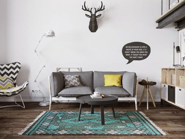"""Scandinavian đích thị là phong cách mà bạn đang tìm kiếm """"mòn mỏi"""" cho không gian phòng khách - Ảnh 14."""