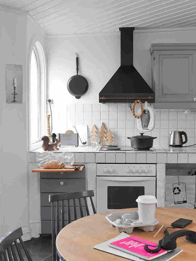 Gạch ốp đảo bếp theo phong cách retro - xu hướng trở lại của năm 2017 - Ảnh 6.