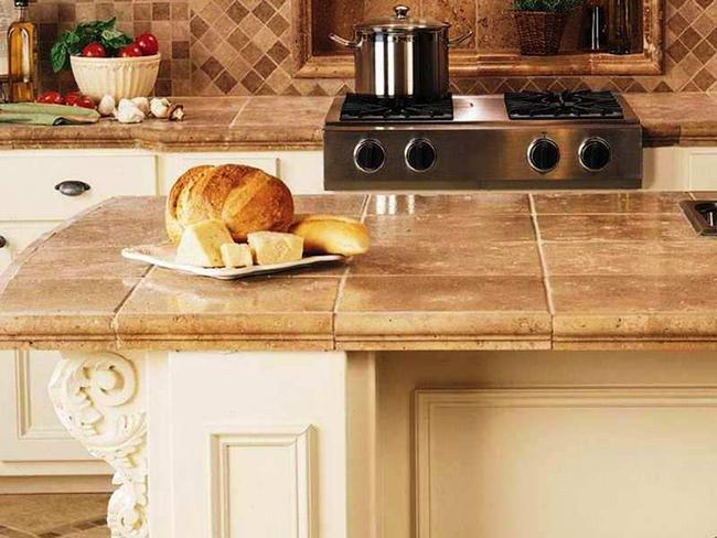 Gạch ốp đảo bếp theo phong cách retro - xu hướng trở lại của năm 2017 - Ảnh 10.