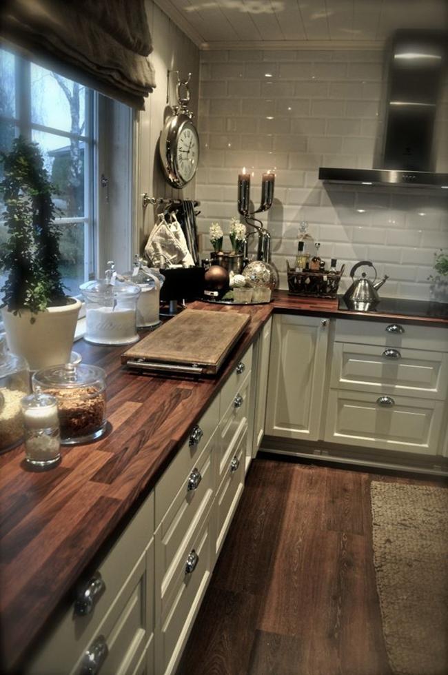 Gạch ốp đảo bếp theo phong cách retro - xu hướng trở lại của năm 2017 - Ảnh 15.