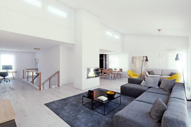 Nếu đang ở chung cư thì đây chính là mẫu phòng khách dành cho nhà bạn đấy - Ảnh 2.