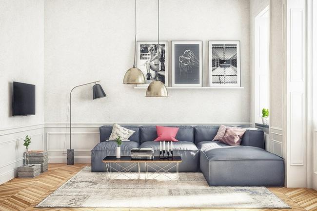 Nếu đang ở chung cư thì đây chính là mẫu phòng khách dành cho nhà bạn đấy - Ảnh 3.